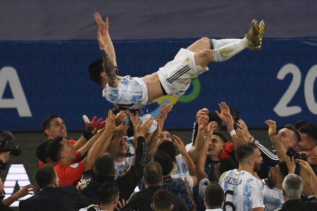 Argentina campeón de la Copa América al vencer a Brasil por 1-0