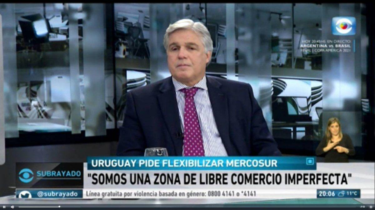 Uruguay no renuncia de ninguna manera a la decisión que tomó