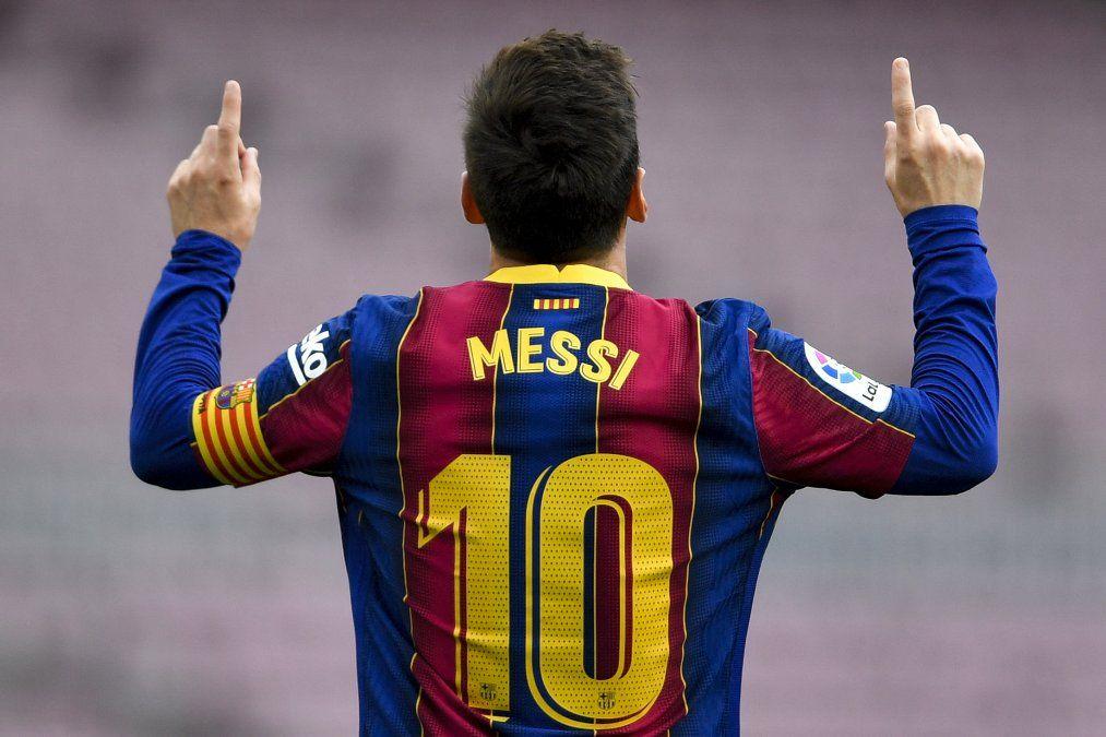Messi firmará por 5 temporadas con Barcelona con una rebaja salarial y 600 millones de cláusula de rescisión