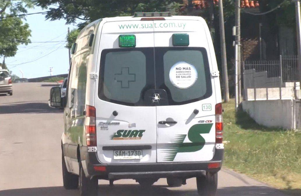 Encañonaron al chofer de un ambulancia en el Cerro y le robaron