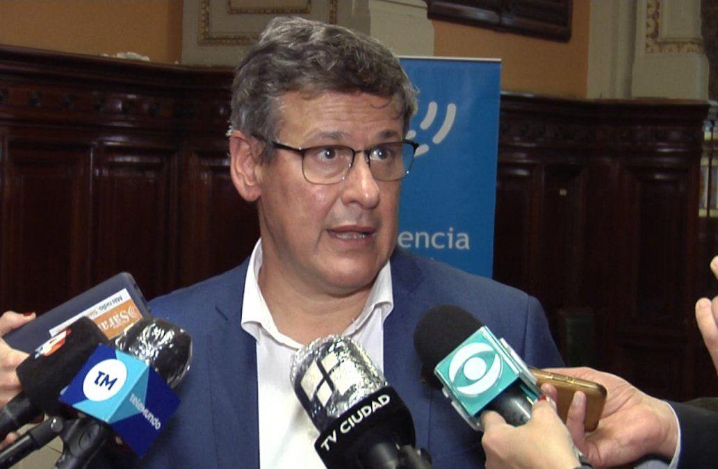Jorge Díaz aseguró que hubo una caída abrupta de los delitos, producto de la pandemia