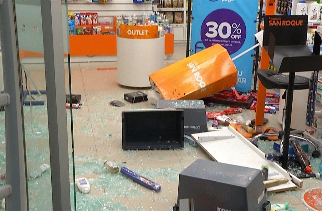 Heber preocupado por robos a farmacias; se investiga si son aislados o una banda organizada