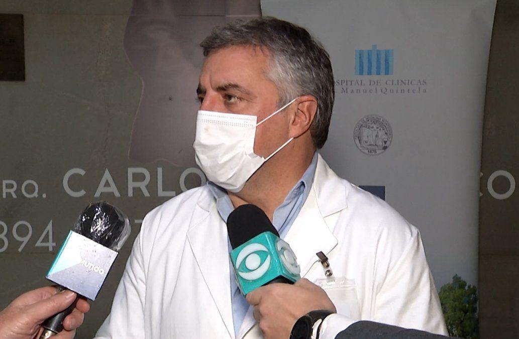 Álvaro Villar: Estamos exigiendo a toda persona que tiene contacto con pacientes que se vacune