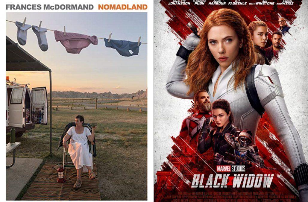 Se estrena la gran ganadora del Oscar, Nomadland, y regresa la superheroína Viuda Negra