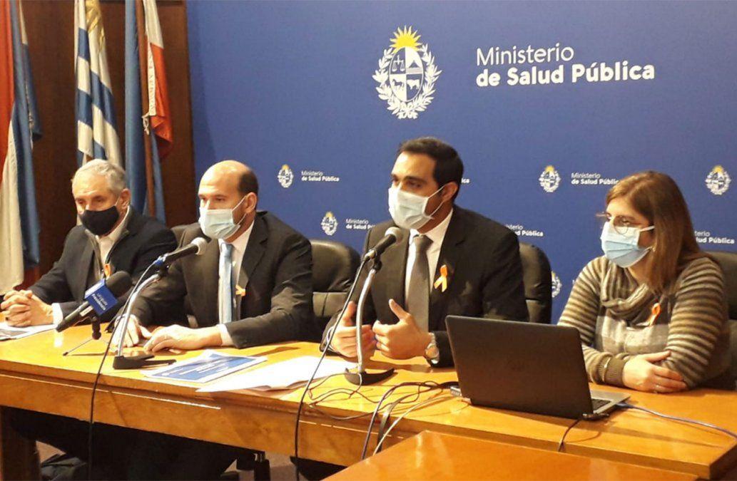 Autoridades del MSP en la conferencia por el Día Nacional de Prevención del Suicidio