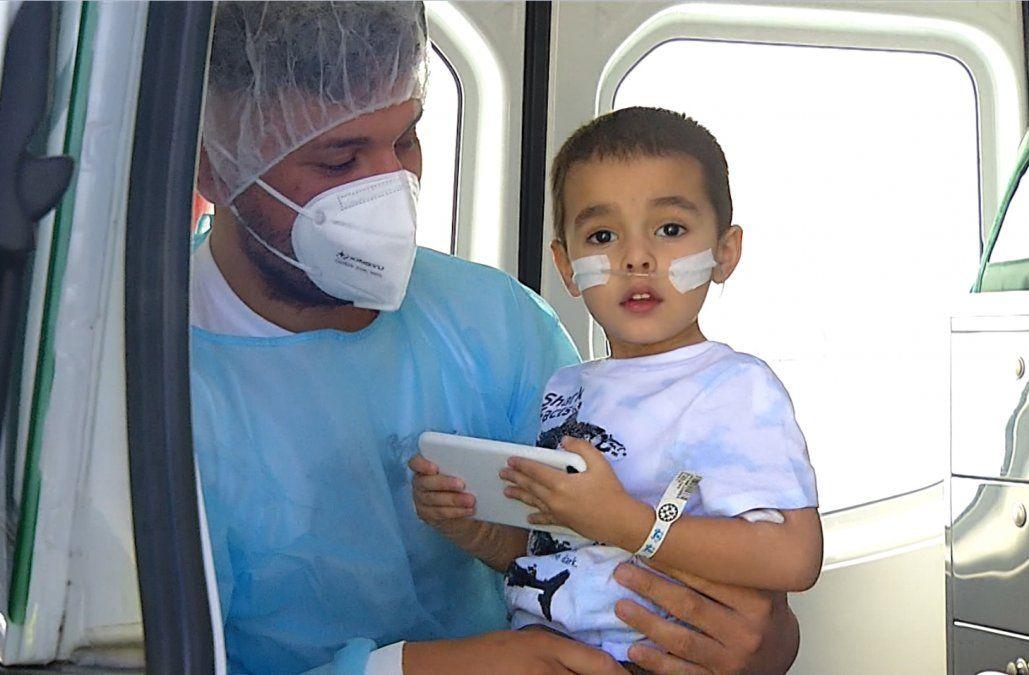 Falleció Benjamín, el niño de tres años que requería de un trasplante bipulmonar