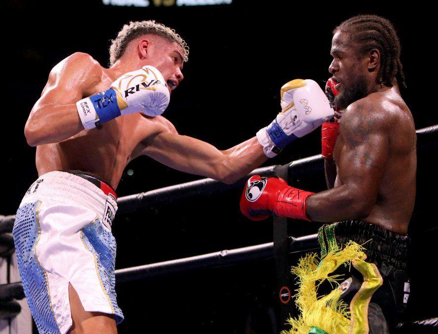 Amílcar Vidal brilló en cartelera mundial de boxeo: venció y mantiene invicto de 13 peleas