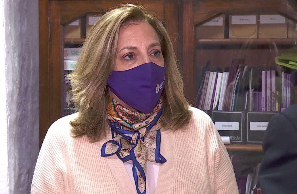 Bottero expresó desconcierto sobre baja en la cifra de denuncias de violencia doméstica