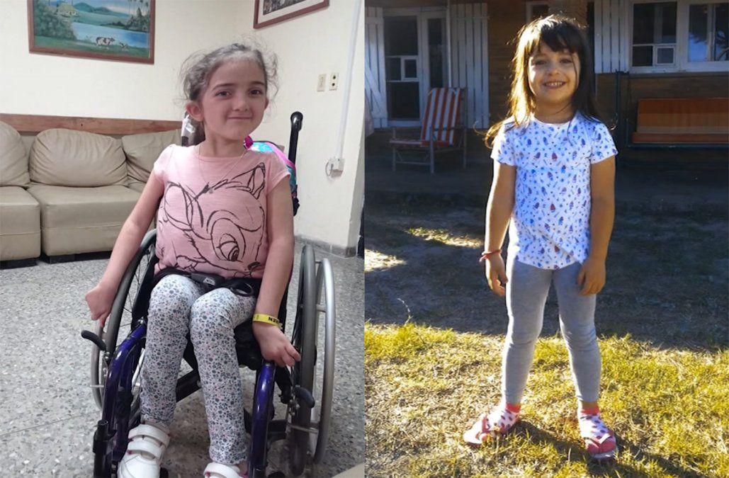 Aurora y Luisa tienen 6 años y pelean por vivir; necesitan la colaboración de todos