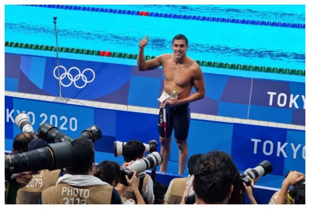 Nadador Enzo Martínez terminó en el puesto 35 entre 73 competidores en 50 metros libres