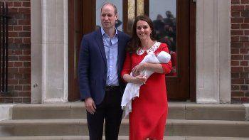 Nació el tercer hijo de Kate Middleton y el príncipe William de Inglaterra