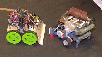 Sumo.uy una competencia de robótica en la Facultad de Ingeniería