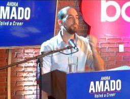 Fernando Amado se fue del Partido Colorado y busca alianza ¿con Mieres?