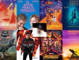 Taquilla 2018 con 266 estrenos, un récord en lo que va de este siglo