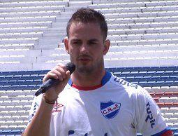 Octavio Rivero cumple el sueño de jugar en Nacional