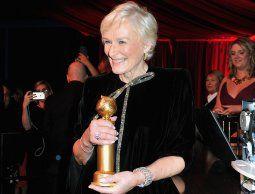Glenn Close: el Oscar aún se le resiste, pero gana el Globo de Oro