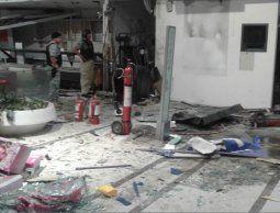 Condenaron al delincuentes que resultó herido en la explosión del cajero del shopping
