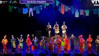 Queso Magro volvió a transmitir diversión, frescura y creatividad