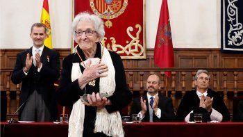 La uruguaya Ida Vitale recibió el Premio Cervantes