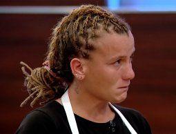 Lidia se quedó sin tiempo para terminar su plato y fue eliminada de MasterChef