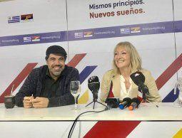 Andrade y Cosse encabezarán listas comunes al Senado de diferentes grupos y sectores