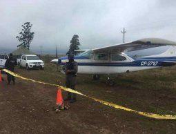 Dos detenidos por la avioneta abandonada en Paysandú: el piloto y su acompañante