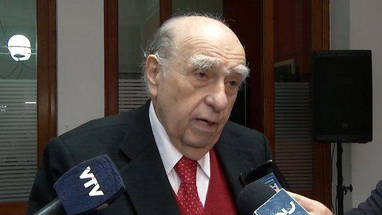 Antes de formar coalición con Manini hay que aclarar temas democráticos, dijo Sanguinetti