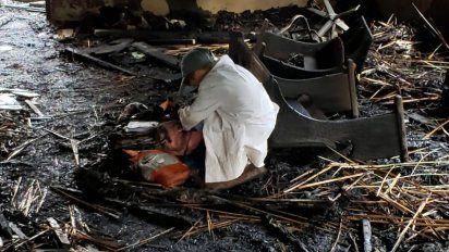 Incendio provocó pérdidas totales en una escuela de Aiguá - Subrayado.com.uy