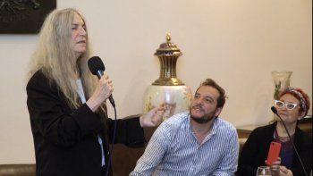 Patti Smith, Visitante Ilustre de Montevideo, antes del Teatro de Verano