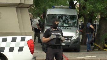 Fuerte operativo de seguridad para el traslado de las tres toneladas de cocaína