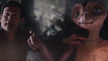 E.T. está de vuelta en la Tierra