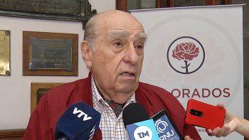 Julio María Sanguinetti será secretario general del Partido Colorado por tercera vez