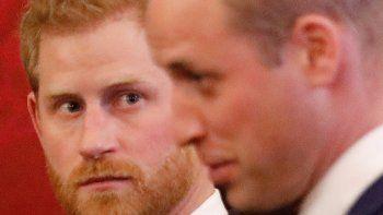 Los príncipes William y Harry muestran unidad pese al