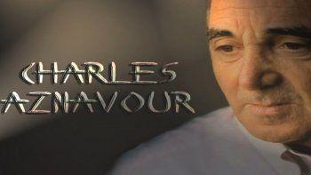 Protagonistas: luces y sombras del cine; Charles Aznavour