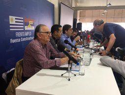 Sectores del FA acuerdan votar las tres candidaturas y esperan por definición de las bases