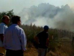 altText(Incendio en Pinar Norte puso en peligro a un complejo de viviendas)}