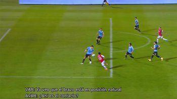Conmebol hizo público Var ante el reclamo de Chile por la mano de Coates