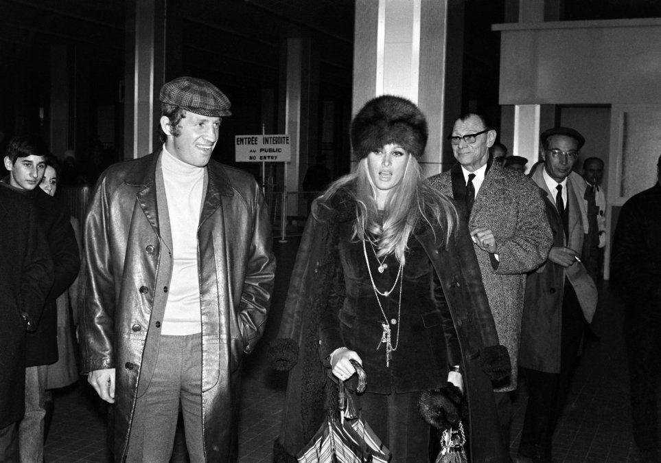 Con Ursula Andress en 1967