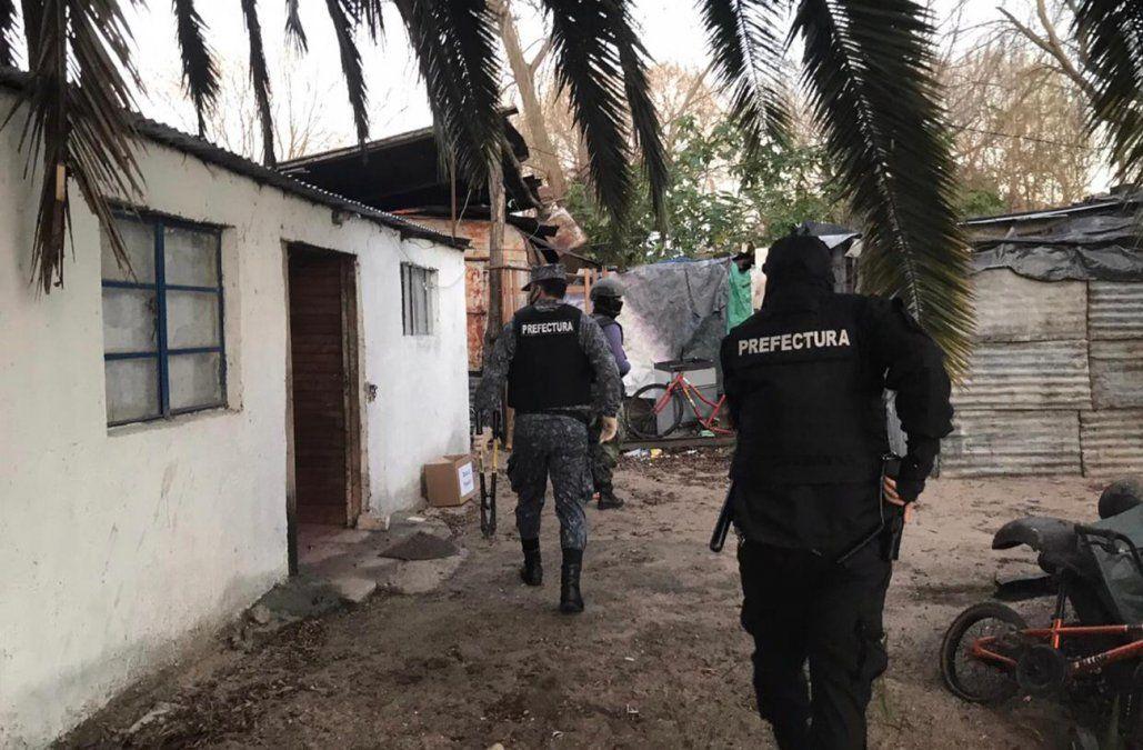 Megaoperativo antidrogas con decenas de allanamientos y más de 30 detenidos