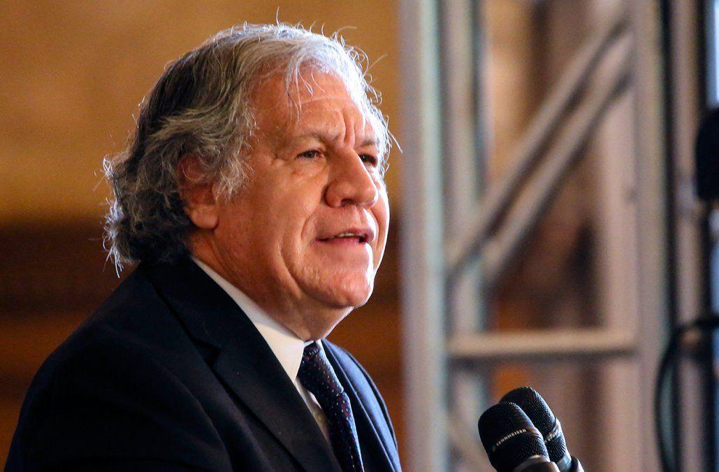 Secretario general de la OEA Luis Almagro dio positivo a Covid-19