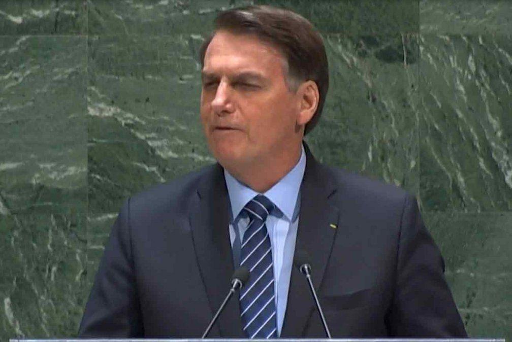 Cancillería pidió explicaciones al embajador de Brasil por dichos de Bolsonaro