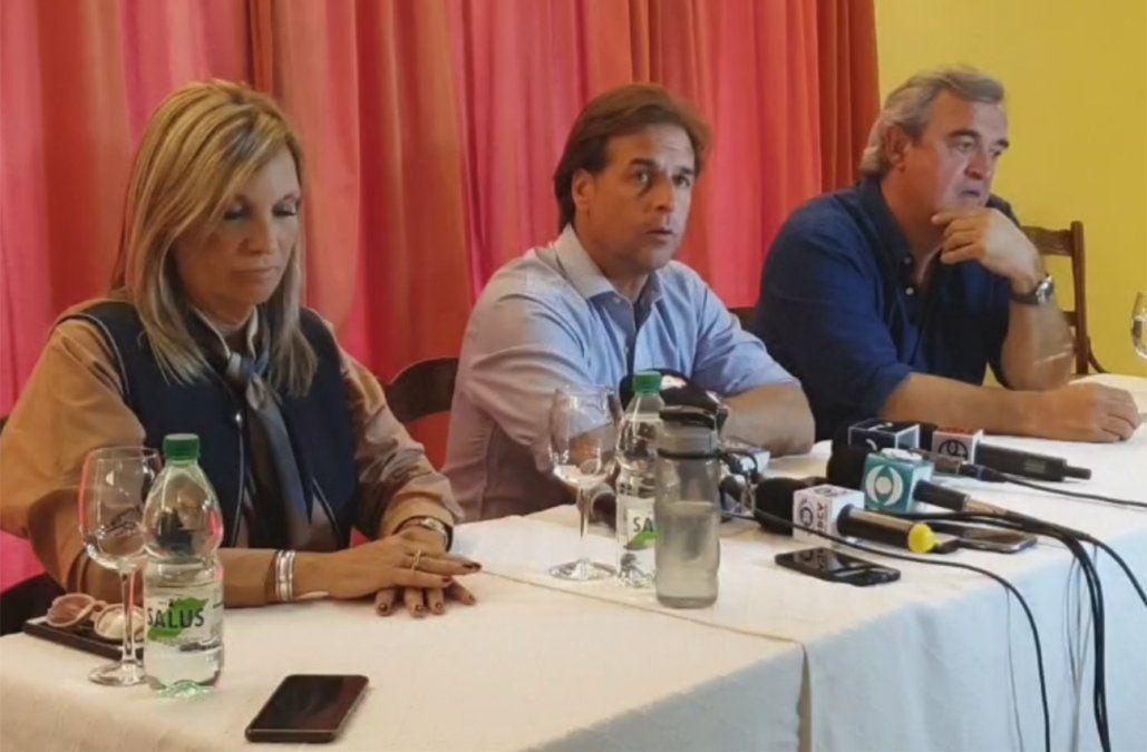Lacalle dijo que no podía hacer otra cosa con Moreira y Larrañaga le pidió la renuncia al Senado