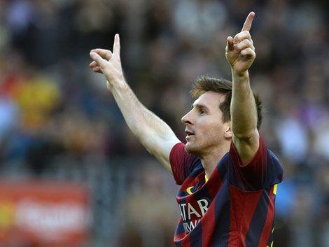 Messi es el goleador histórico del Barcelona