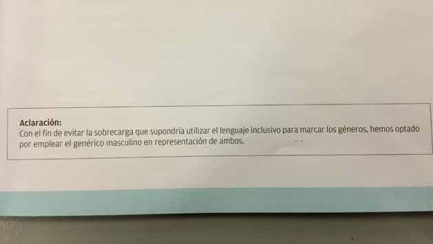 """Reconocen en publicación oficial la """"sobrecarga"""" del lenguaje inclusivo"""