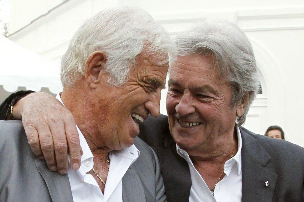 Belmondo y Delon en 2017