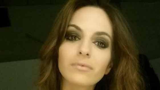 Martina Graf presentó denuncia por una foto que circula en redes sociales