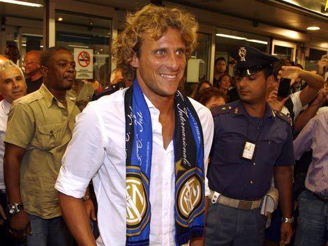 Milito: Con Forlán Inter consiguió fichar a un campeón