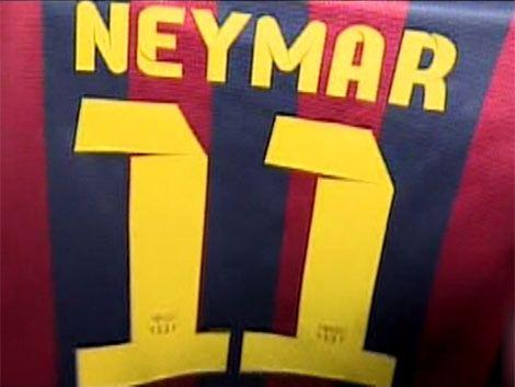 Neymar firmó y ya es jugador de Barcelona