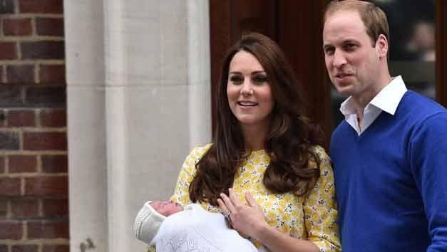Video: Catalina y el príncipe Guillermo presentaron a su segunda hija