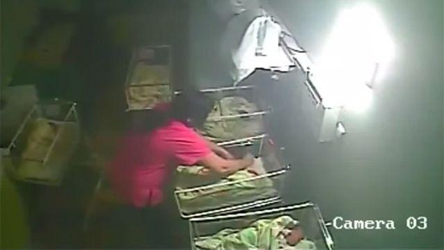 Bulgaria: enfermera detenida por golpear a una beba recién nacida